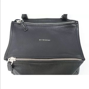 Givenchy Bags - GIVENCHY Black Leather Small Pandora Crossbody Bag
